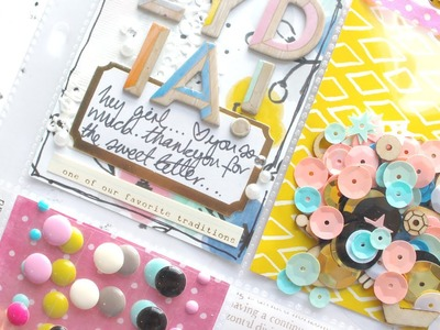 Pocket Letter Process Video - For Lydia