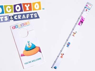 Pocoyo Arts & Crafts: decorate your room with Pocoyo! [EP 2]