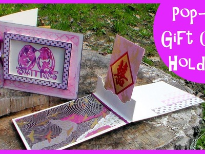 Pop-Up Gift Card Holder. Stamp School
