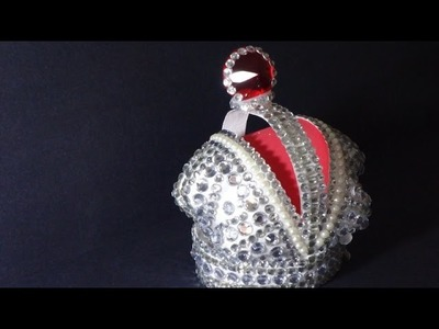 Recycling Art and Crafts Ideas: Making the Crown of the Russian Empire out of Plastic Bottles