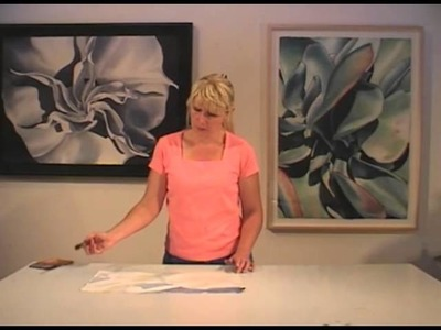 Watercolor with Birgit O'Connor: White Flowers & Water Drops