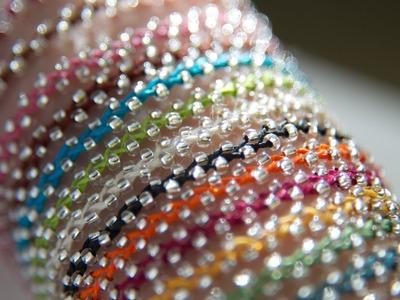 Beaded bracelet - Bracelet de perles