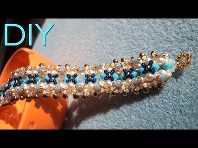 [Beadwork] |DIY| Xoxo Bracelet  SUB ENG