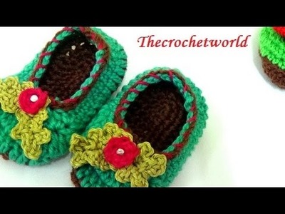 Crochet baby booties-2