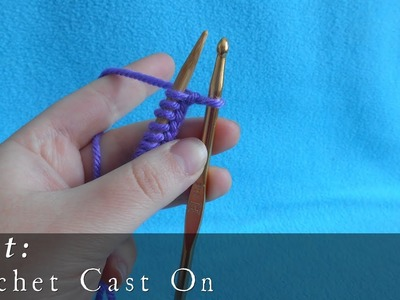 Crochet Cast On { Knit }
