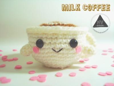 Crochet Milk Coffee Cup Amigurumi FREE PATTERN