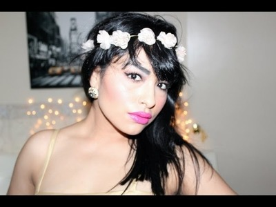 DIY ♡ Corona con flores (Rose.Floral Crown)