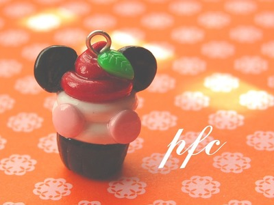 DIY Pandapple Cupcake Polymer Clay Charm Tutorial