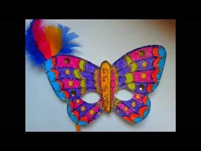 DIY. Springtime crafts ♥ Manualidades. Mascaras primavera