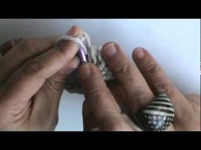 Gorra en punto relieve a crochet (parte 1)