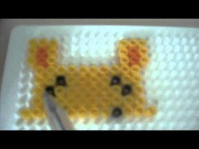 Hama Beads:Winnie The Pooh