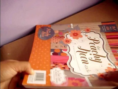 Material scrapbook. Compras Scrapbook (Feria)- Haul scrapbook