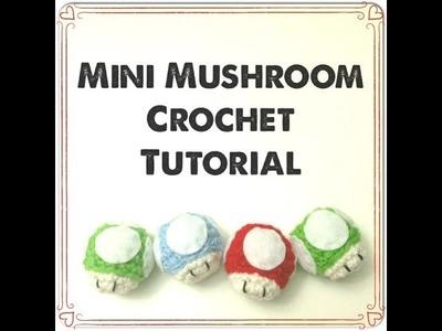 Mini Mushroom Amigurumi ~ Crochet Tutorial