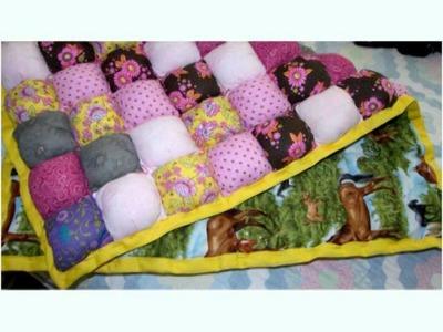 Puff Baby Blanket