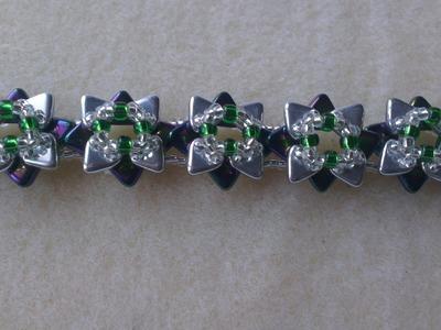 PULSERA FLORES JAPONESAS-Japanese flowers bracelet