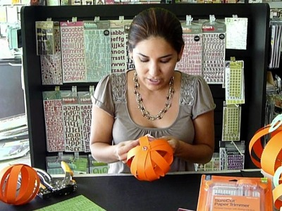 Scrapbook Mexico. El Scrap de Vane. Tutorial Halloween Pumpkin