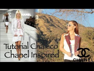 Tutorial- Chaleco Chanel Inspired (DIY)