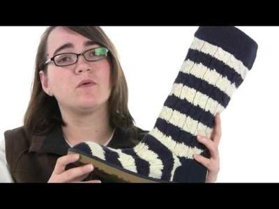 Ugg Classic Stripe Cable Knit SKU#7557079