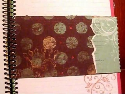 Cuaderno de Notas Scrapbooking
