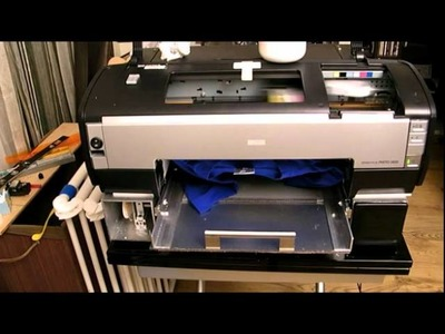 Dtg diy epson 1400, printing white ink