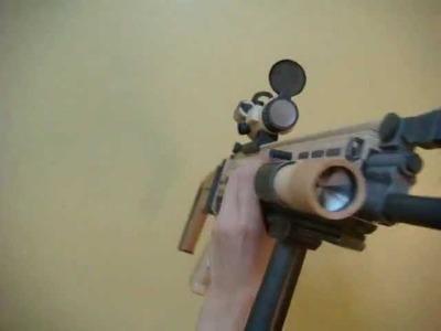 FN-SCAR PAPERCRAFT from PaperReplika