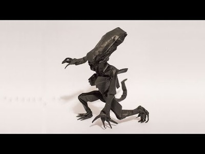 Origami Alien 2.0 - Alex Satsukawa (Not a Tutorial)