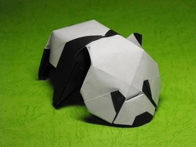 Origami Baby Panda by Jacky Chan