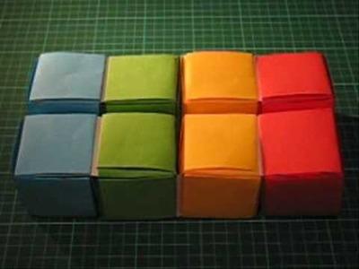 Origami Flexicube