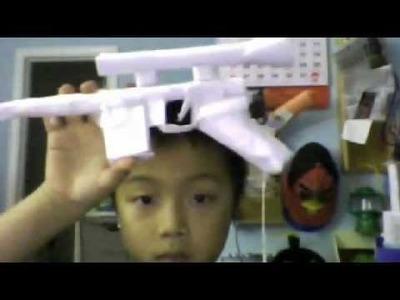 Paper Han solo's paper blaster