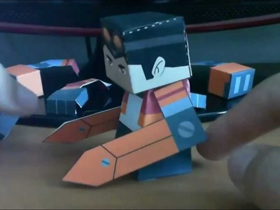 Papercraft generator rex parte 2