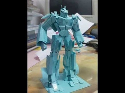 Papercraft Transformers ROTF 01