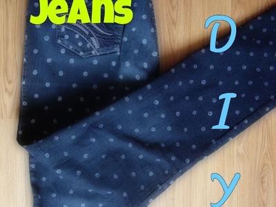 Renueva tus jeans-pantalon-DIY How to