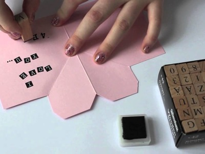 Valentine DIY - Love letter