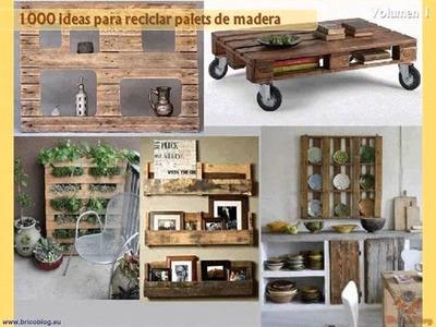 1000 ideas creativas para reciclar palets de madera - Volumen I