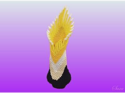 3d origami - Vase 5