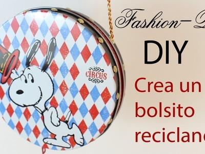 DIY- Crea un bolso con latas de galletas!  | Fashion Riot