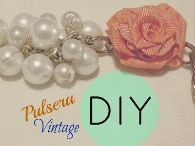 DIY Pulsera Vintage