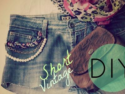 DIY Short Vintage