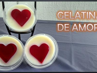 Gelatinas de amor DIY