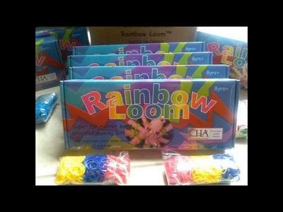 How To Make A Rainbow Loom Starburst Bracelet [Starburst Rainbow Loom]
