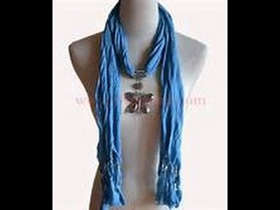 ~How To Style Tie  A Jewelry Scarf~