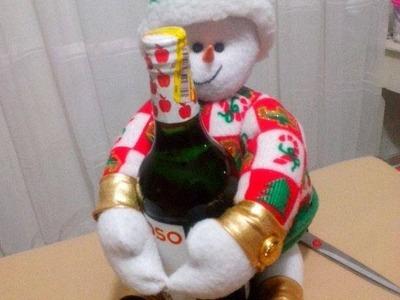 Nieve Porta Botella