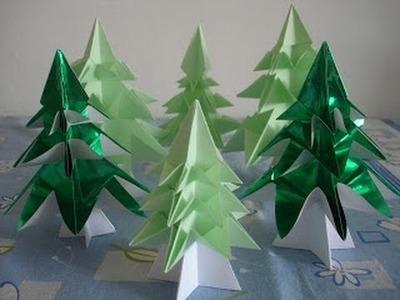 Origami - Arvore de Natal