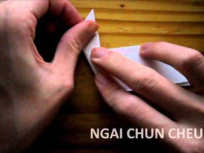 Origami Easter Bunny (Tutorial)