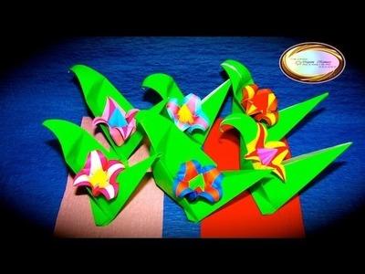 Origami Maniacs 115: Origami Spring Flowers