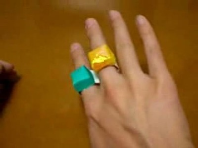 Origami ring