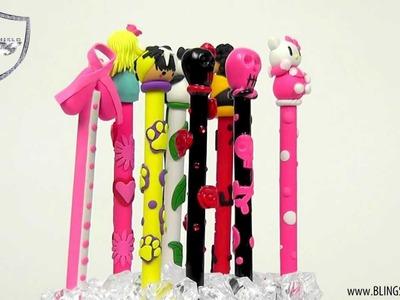 Polymer Clay Pens. BlingShieldTV