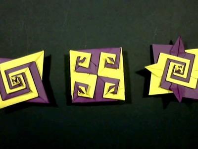 Spiral origami by Tomoko Fuse and Toshizku Kawasaki - Yakomoga Origami