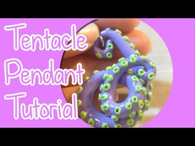 Tentacle Pendant - Polymer clay tutorial