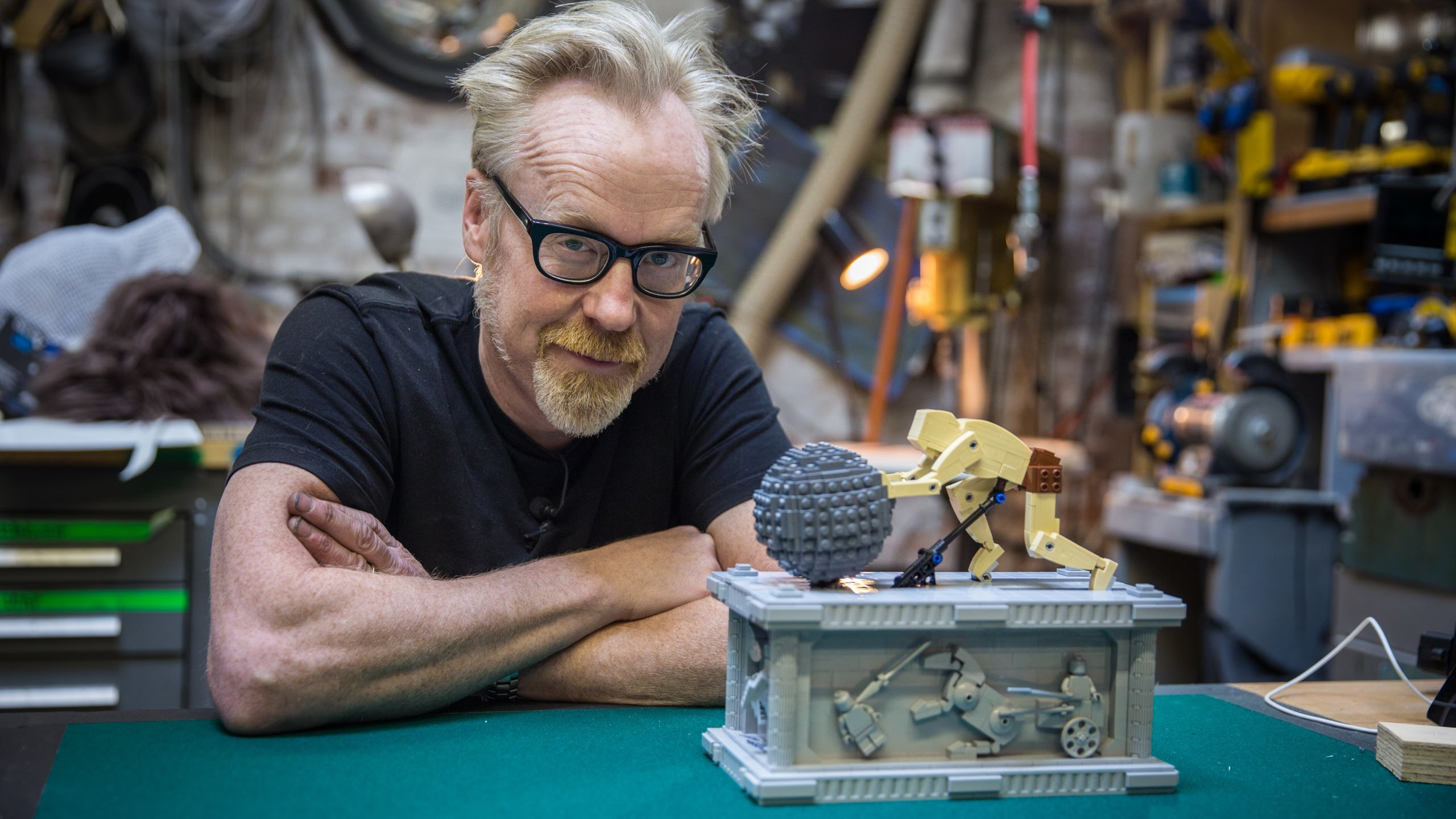 Adam Savage's One Day Builds: LEGO Sisyphus Automata!